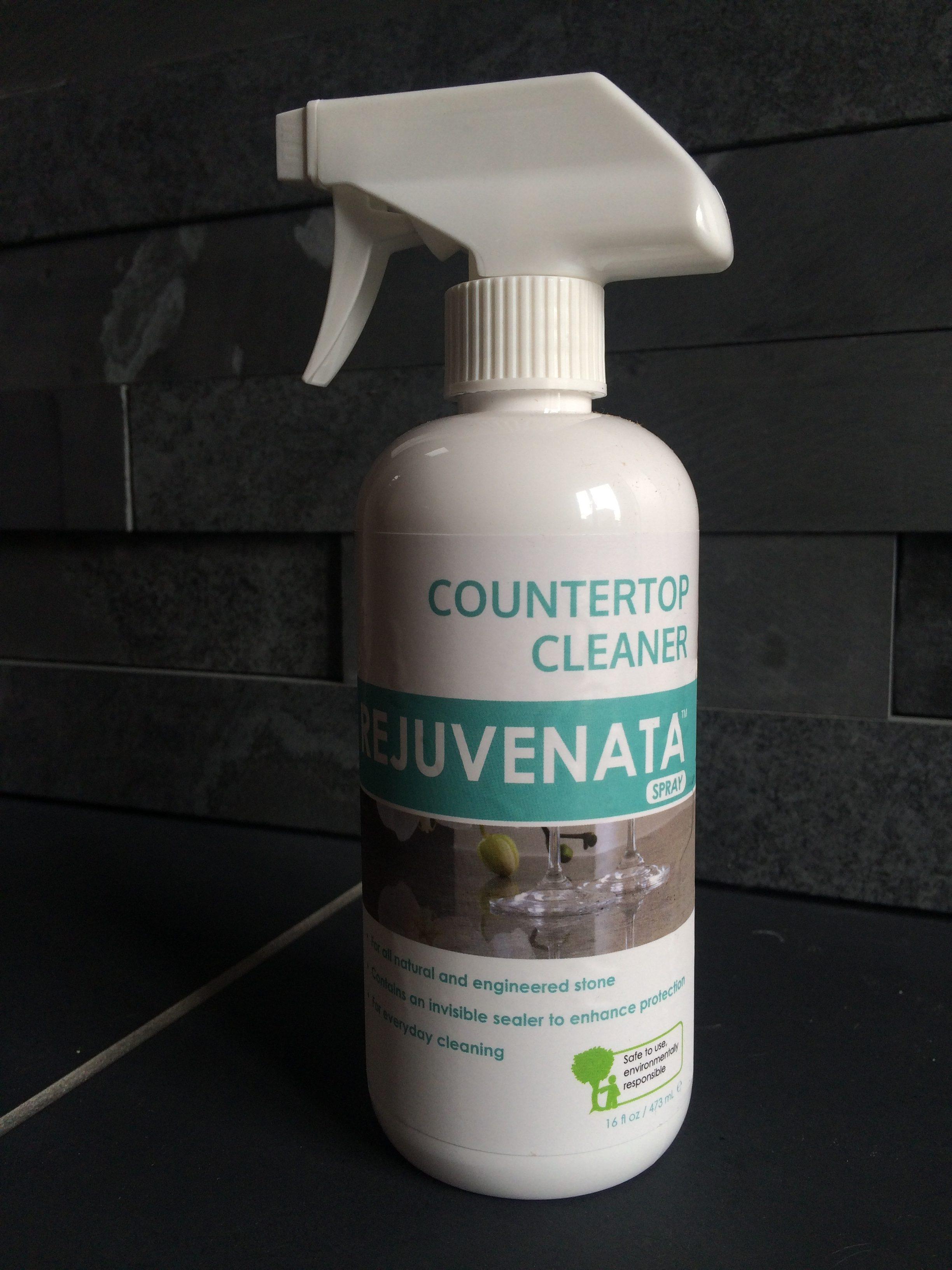 Rejuvenata Countertop Cleaner Spray 473ml Berwyn Slate
